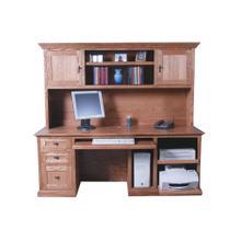 Forest Designs Mission Desk: 78W x 30H x 28D (No Hutch)