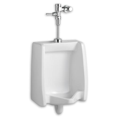 American Standard - Washbrook 0.125 gpf Washout Top Spud Urinal with Manual Flush Valve System - White