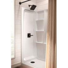 "High Gloss White 60"" x 32"" Shower Wall Set"