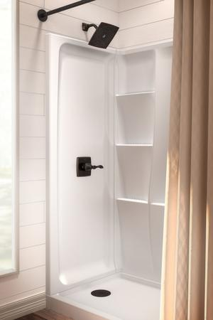 "High Gloss White 60"" x 32"" Shower Wall Set Product Image"