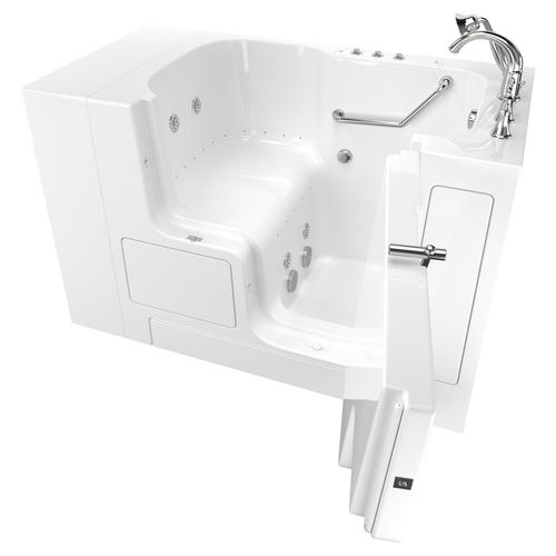 Value Series 32x52-inch Combo Massage Walk-in Tub  American Standard - White
