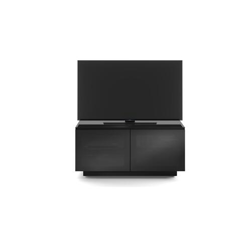 BDI Furniture - Mirage 8224 Media Cabinet in Black