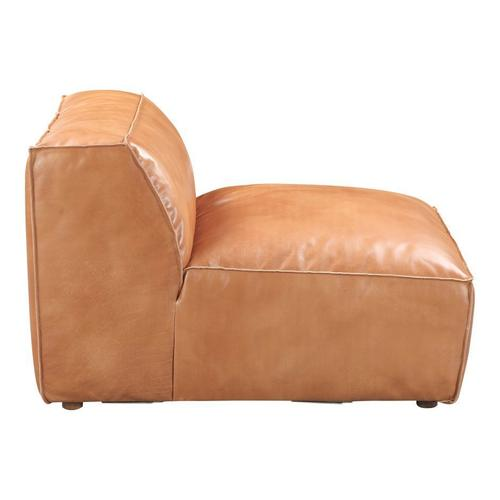 Moe's Home Collection - Luxe Slipper Chair Tan