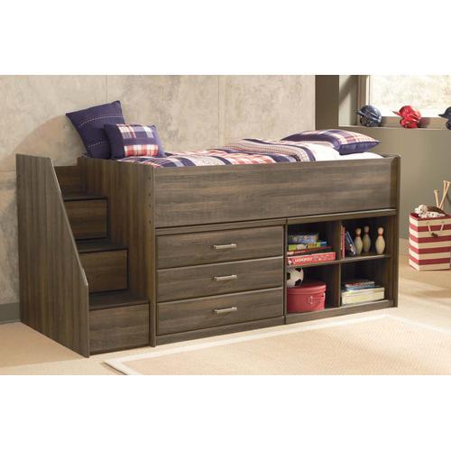 Product Image - Juararo - Dark Brown 5 Piece Bedroom Set