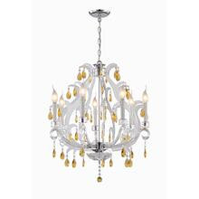 See Details - 7 Lites Chandelier C/crystal E12 Type B 60wx7