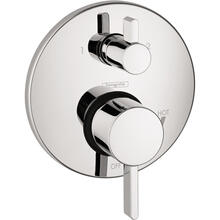 Chrome Pressure Balance Trim S with Diverter