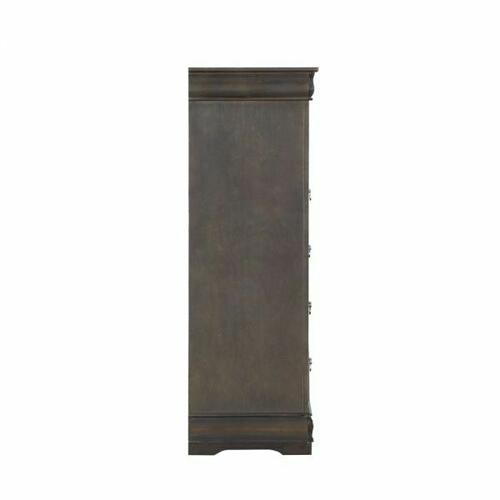ACME Louis Philippe Chest - 26796 - Dark Gray