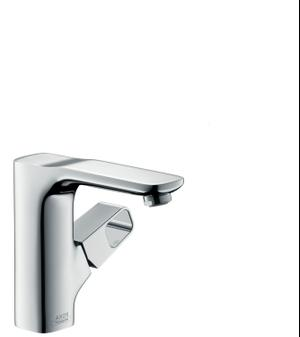 Chrome Single lever basin mixer 130 with waste set Product Image