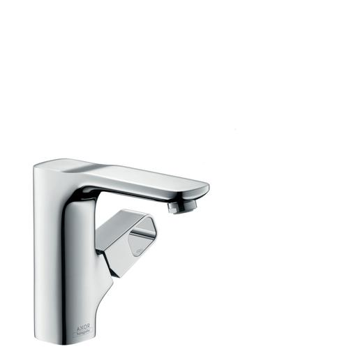 Stainless Steel Optic Single lever basin mixer 130 with pop-up waste set