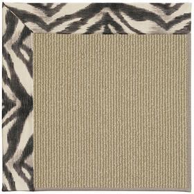 Creative Concepts-Sisal Tigress Zinc Machine Tufted Rugs