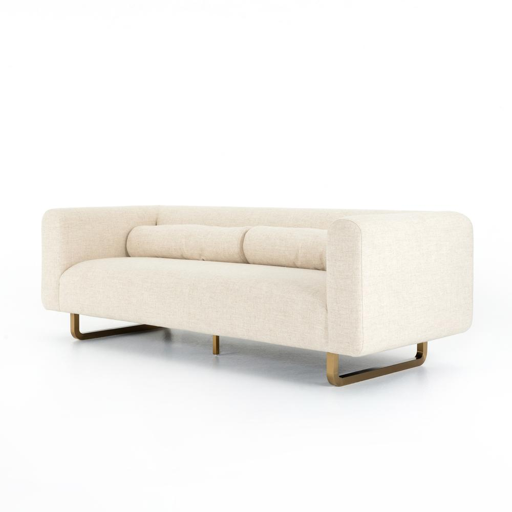 Sled Sofa-thames Cream