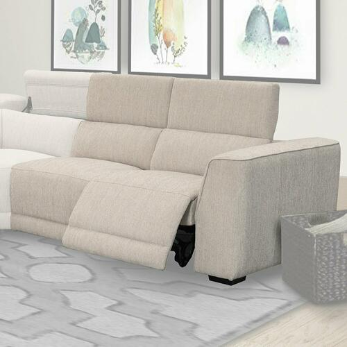 NOHO - BISQUE Power Right Arm Facing Loveseat