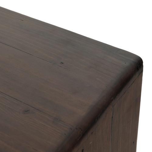 Lineo 6 Drawer Dresser-rustic Saddle Tan