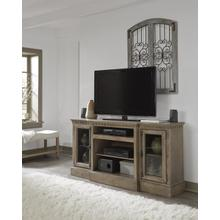 64 Inch Console - Antique Mist Finish