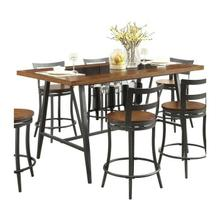 See Details - Counter Height Table Top & Metal Base