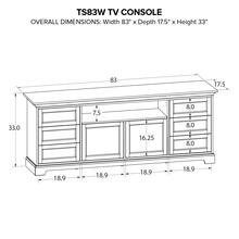 TS83W Custom TV Console