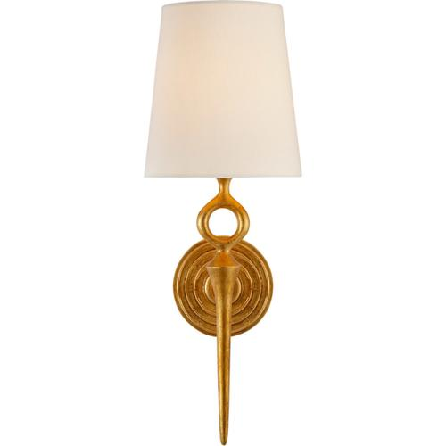 Visual Comfort - AERIN Bristol2 1 Light 7 inch Gild Single Sconce Wall Light