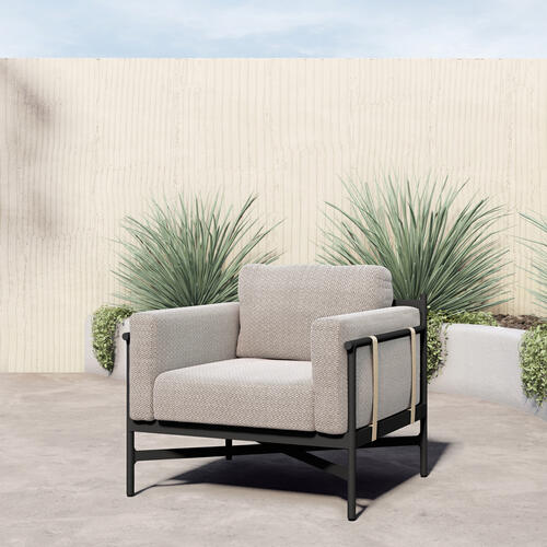 Faye Sand Cover Hearst Outdoor Chair