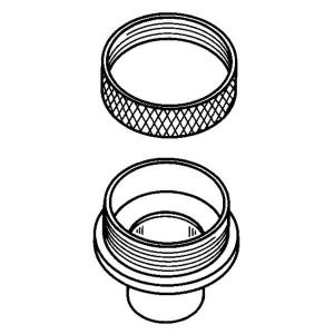 Porter-Cable Guide Bushing and Locknut Product Image