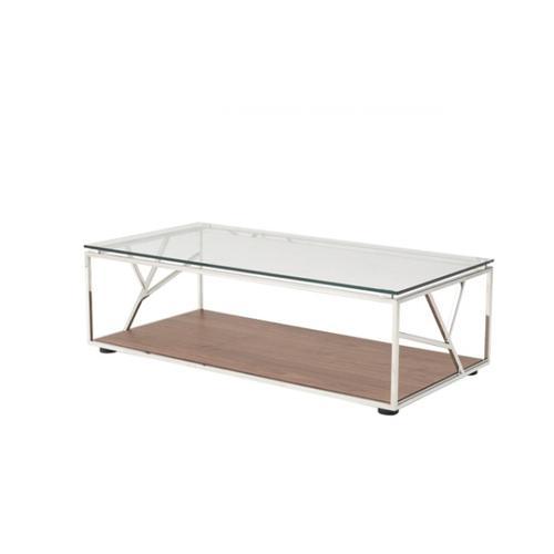 VIG Furniture - Modrest Cressida Modern Walnut Coffee Table