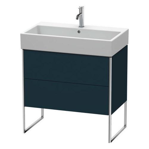 Duravit - Vanity Unit Floorstanding, Night Blue Satin Matte (lacquer)