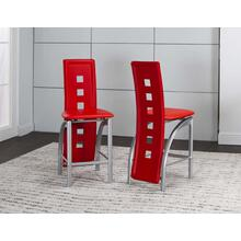 "Valencia 24"" Stool Red 2pk"