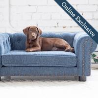 Tuscon Sofa, Blue Product Image