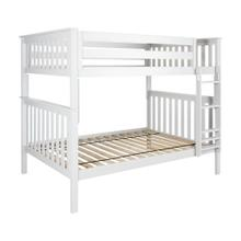 View Product - Full/Full Bunk White