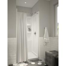 White ProCrylic 36 in. Shower Surround