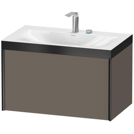 Duravit - Furniture Washbasin C-bonded With Vanity Wall-mounted