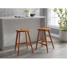 Max Stool in Counter Height, Amber