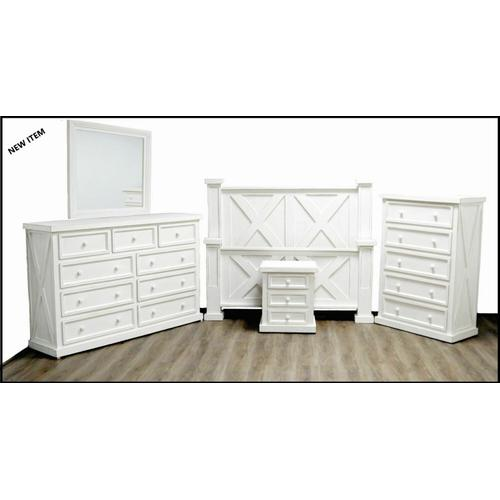 Million Dollar Rustic - High Cotton Double X Ww Bedroom Group
