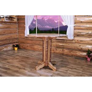 Montana Woodworks - Glacier Country Collection Pedestal Pub Table