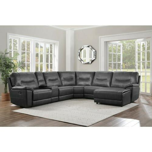 Gallery - Right Side Chaise, Push Back Recliner