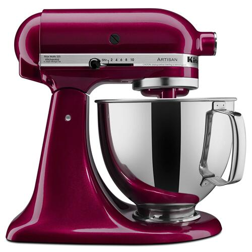 Artisan® Series 5 Quart Tilt-Head Stand Mixer Bordeaux