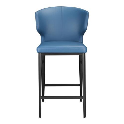 Delaney Counter Stool Steel Blue