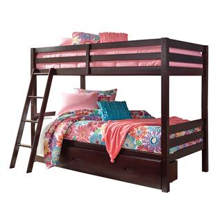 Halanton Twin/Twin Bunk Bed w/ Storage