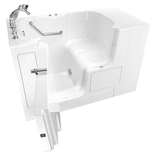 Value Series 32x52-inch Air Massage Walk-In Tub  Out-swing Door  American Standard - White