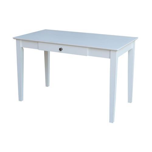 John Thomas Furniture - Desk in Beach White