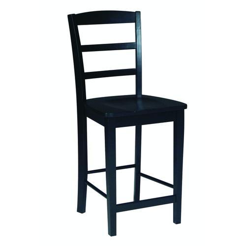 John Thomas Furniture - Madrid Stool in Black