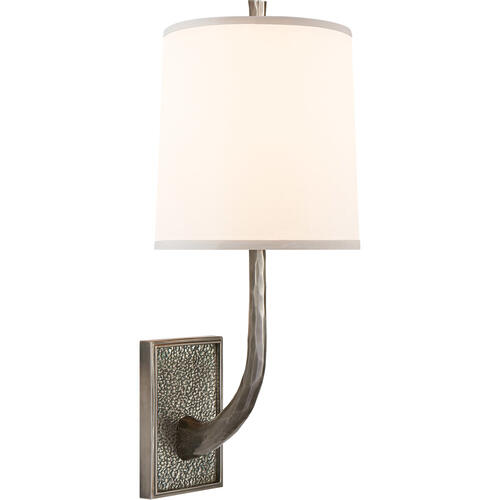 Barbara Barry Lyric Branch 1 Light 8 inch Pewter Finish Decorative Wall Light