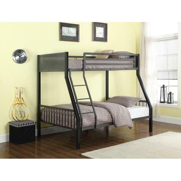 See Details - Twin / Full Bunk Bed