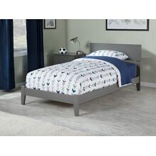 Orlando Twin Bed in Atlantic Grey