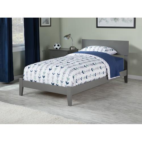 Orlando Twin Bed in Atlantic Grey
