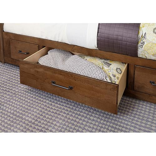 King Mansion Bed with 1 Side Storage