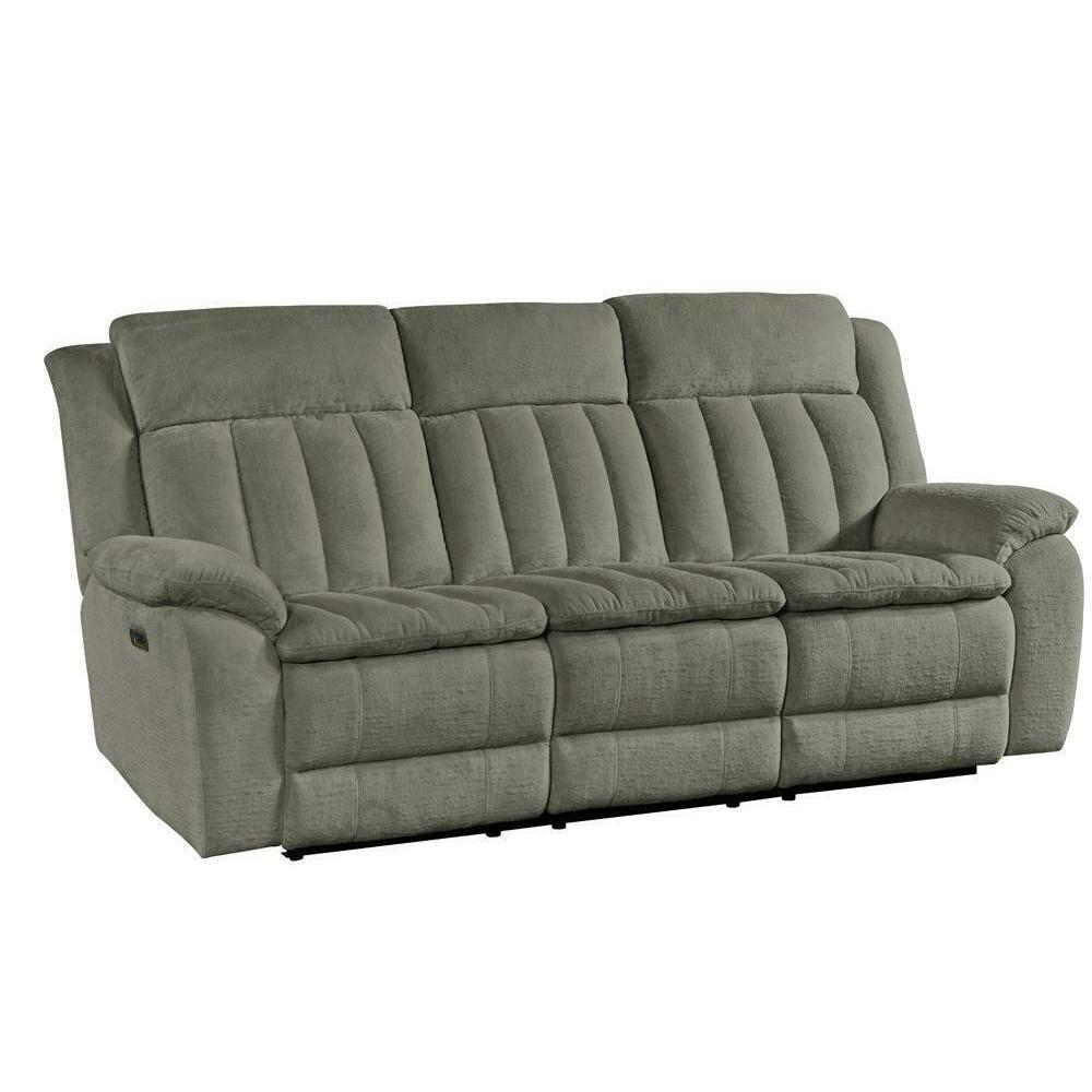Product Image - CUDDLER - LAUREL DOVE Power Sofa