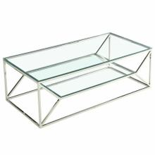 See Details - Dragor Coffee Table in Silver