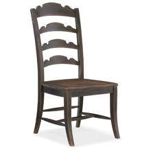 View Product - Hill Country Twin Sisters Ladderback Side Chair - 2 per carton/price ea