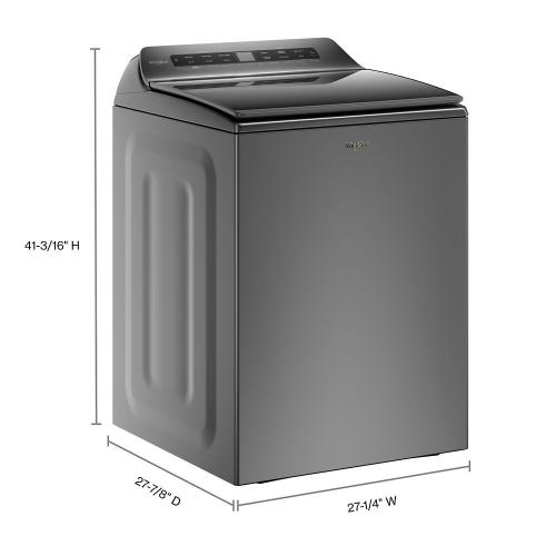 Whirlpool - 4.8 cu. ft. Smart Top Load Washer
