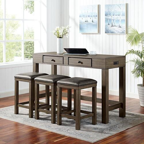 Gualde 4 Pc. Counter Ht. Table Set